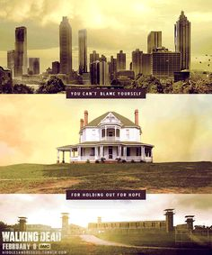 AMC - The Walking Dead Locations for Seasons Walking Dead Tv Show, Walking Dead Series, Walking Dead Zombies, Walking Dead Season, Fear The Walking Dead, Dead Inside, Stuff And Thangs, Zombie Apocalypse, Best Shows Ever