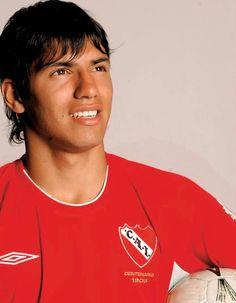 Sergio Aguero - Independiente James Rodrigues, Sergio Aguero, Kun Aguero, National League, Club, Manchester City, Football Players, Messi, My Boys