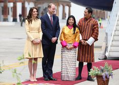 April 14th, 2016 - Kate Middleton's Style Diary from the Royals' Trip to India and Bhutan - Photos