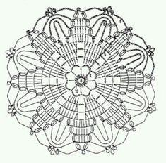 klikni pro další - Her Crochet Crochet Snowflake Pattern, Crochet Mandala Pattern, Crochet Stars, Crochet Motifs, Crochet Snowflakes, Crochet Blocks, Doily Patterns, Crochet Doilies, Crochet Flowers