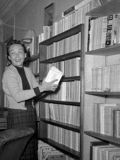 Marguerite Duras chez elle...