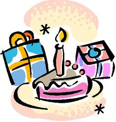 birthday party clip art borders clipart panda free clipart rh pinterest com birthday cake celebration clip art birthday celebration clip art images