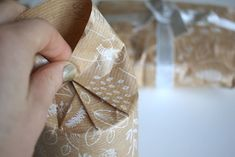 How to Wrap a Present that's Circular or Round