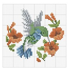 #crossstitch #hummingbird