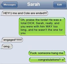 Engagement fail--- hahahhahahaha
