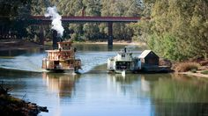 History and heritage, The Murray River, Victoria, Australia