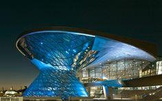 BMW Welt. Monachium, Niemcy Produkty: SGG DIAMANT. #glass #architecture #desing #future #futuristc_architecture #glassisthefuture