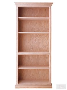DIY before and after bookcases