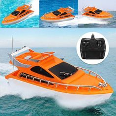 Tool Sets Fast Deliver Baby Boy Toys Cool Remote Control Boat Volvo Racing Birthday Gift For12~15 Years Old