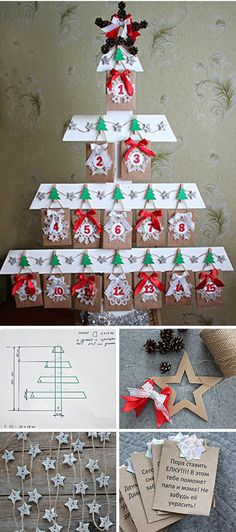 How to make Advent calendar. Click on image to see step-by-step tutorial