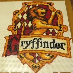 Gryffindor - Harry Potter hama perler beads by squirrol