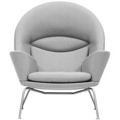 the 'oculus chair' - ch468 by hans wegner c1960 - relaunched by carl hansen c2010