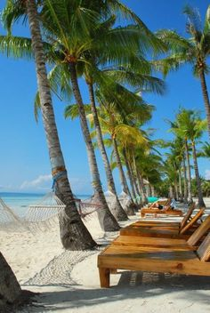 Bohol, Philippines- I am not sure the Philipines is high on my list, but this beach and that hammock look awesome!