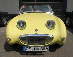 Austin Healey Sprite... Reminds me so much of my Healey. His name sake is perfect for him!