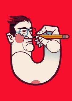 sombrasblancas: Go draw yourself by Lawerta