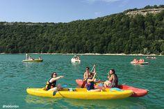 Canoë du le Lac de Chalain | Jura, France | photo by SebGordon | #JuraTourisme