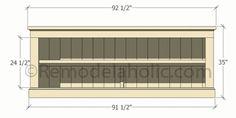 Build a Farmhouse Style TV Console/Sideboard (Remodelaholic) Farmhouse Tv Stand, Farmhouse Style Kitchen, Rustic Farmhouse, Diy Furniture Plans, Farmhouse Furniture, Wood Furniture, Sideboard Table, Console Table, Prefinished Hardwood