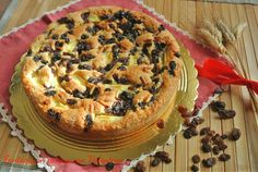 Torta+di+mele+pinoli+uvetta+sultanina