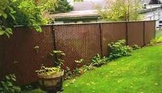 Chain Link Fence Slats - Sold at Home Depot