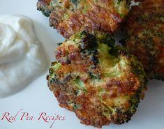 Broccoli bites take snacks back to basics New Recipes, Vegetarian Recipes, Dinner Recipes, Cooking Recipes, Favorite Recipes, Healthy Recipes, Cooking Tips, Broccoli Bites, Fresh Broccoli