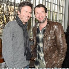 Jack Davenport and James Purefoy .. Two of the hottest guys together