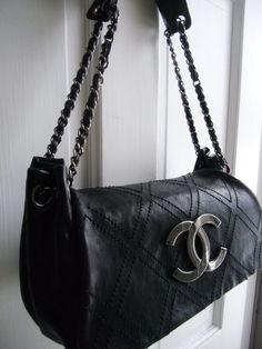 51f82caa617a Chanel Quilted Flap Chain Handles Handbag  CHANEL  tote
