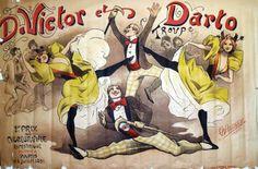 D.Victor et Darto Troupe * CHOUBRAC Paris 1891