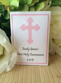 First Holy Communion Seed Packets Communion by FavorUniverse