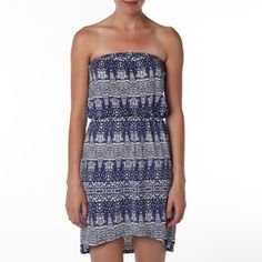 Hi-Low Tube Dress Galaxy Multi, $67, now featured on Fab.