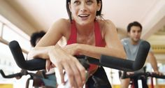 I used to love the spinning classes at the gym.  Printable 45 Minute 500+ Calorie Burning Spin Bike Workout