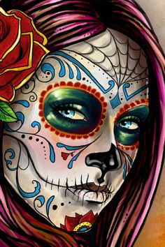 Day of The Dead Girlz!