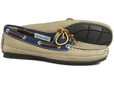 7d99ee1ad Orca Bay BAHAMA Ladies Indigo/Taupe Deck Shoe for women to buy online #shoes