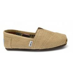 Natural Burlap Women's Classics - TOMS - LOVE LOVE LOVE! Need a natural/brown pair of flats, bad!