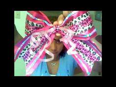 How to make a Cheerleading Bow @Mea Lanham