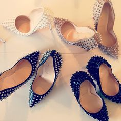 studded shoes - Now that's what I'm talking about! I only have four pair, though, but one is a Louboutin!