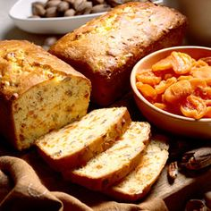 Apricot-Pecan Bread Recipe  I have a lot of apricots right now.  This is one use, just use fresh, apricots chopped to measure instead of rehydrated dried.