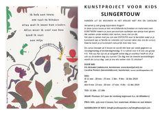kunstproject voor kids: SLINGERTOUW