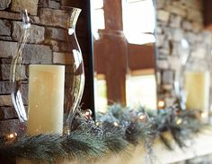 Let the mantel glow!
