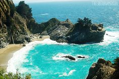 The Siberian American: California Road Trip: The Most Beautiful Place in Big Sur