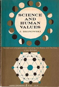 Science and human value, science book cover.
