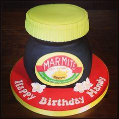 Marmite Jar Cake