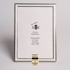 Haffke Silver Enamel Picture Frame Without Rose 8 X 10 Inch. Manufacturer  Sku: 538
