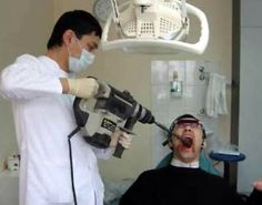 Bad Dentist Browsing thru the web and found these images and thought I should post .. What do you think