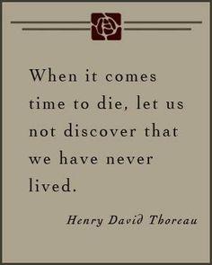 Thoreau.