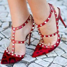 ♥stud heels