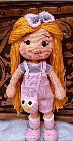 Cute and Amazing Amigurumi Crochet Pattern Ideas Part 8 Cute and Amazing Amigurumi Crochet Pattern Ideas Part amigurumi patterns free; amigurumi to go; Crochet Cat Pattern, Crochet Dolls Free Patterns, Amigurumi Patterns, Amigurumi Doll, Doll Patterns, Pattern Ideas, Crochet For Kids, Crochet Baby, Crochet Crafts
