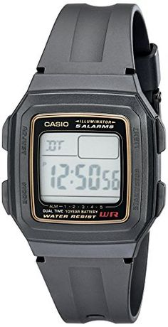 Casio Mens F201WA9A MultiFunction Alarm Sports Watch -- You can get additional details at the image link.