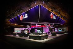 LG at CTIA 2012 on Behance