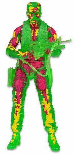 Figura Dutch Térmico, 18cm. Predator Serie 11 Figura de 18cm perteneciente al personaje Ducth térmico basado en la serie 11 de la película Predator.