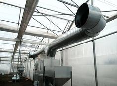Hot air generator 350kw ,in greenhouse
